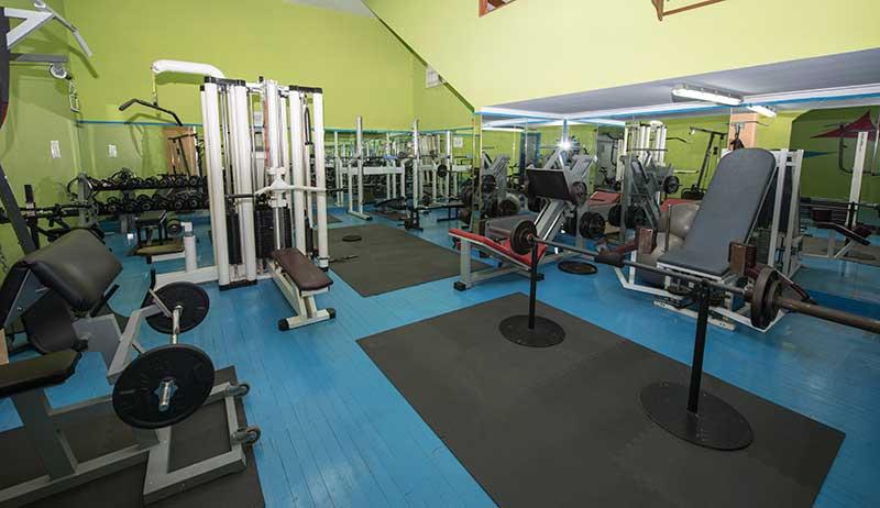 sala gimnasio marin
